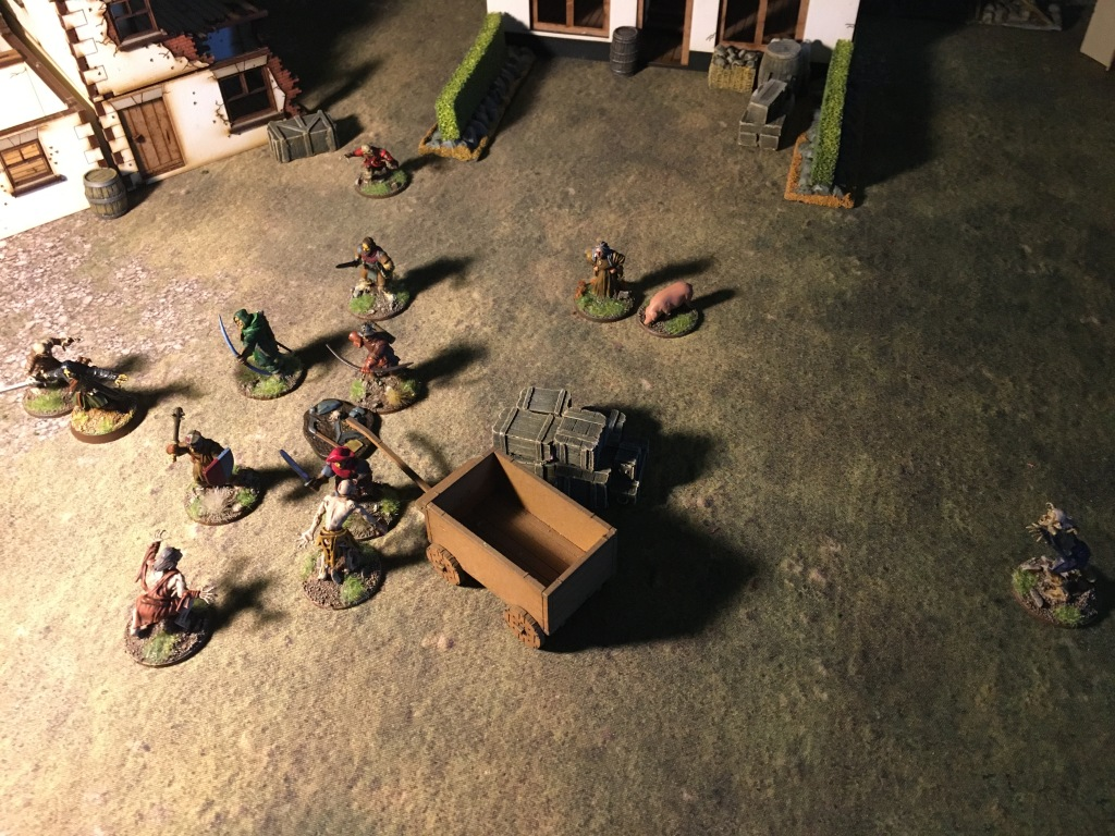 The undead attacks from all sides